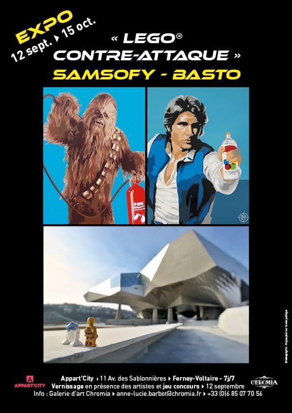 DUO SHOW Samsofy-BASTO LEGO CONTRE ATTAQUE 1