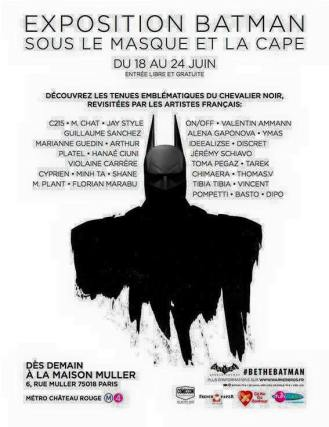 Batman x Maison Muller 2015 Paris (FR)
