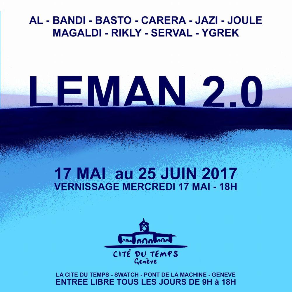 LEMAN 2.0 Visuel définitif exposition 17 mai-25 juin 2017 Genève