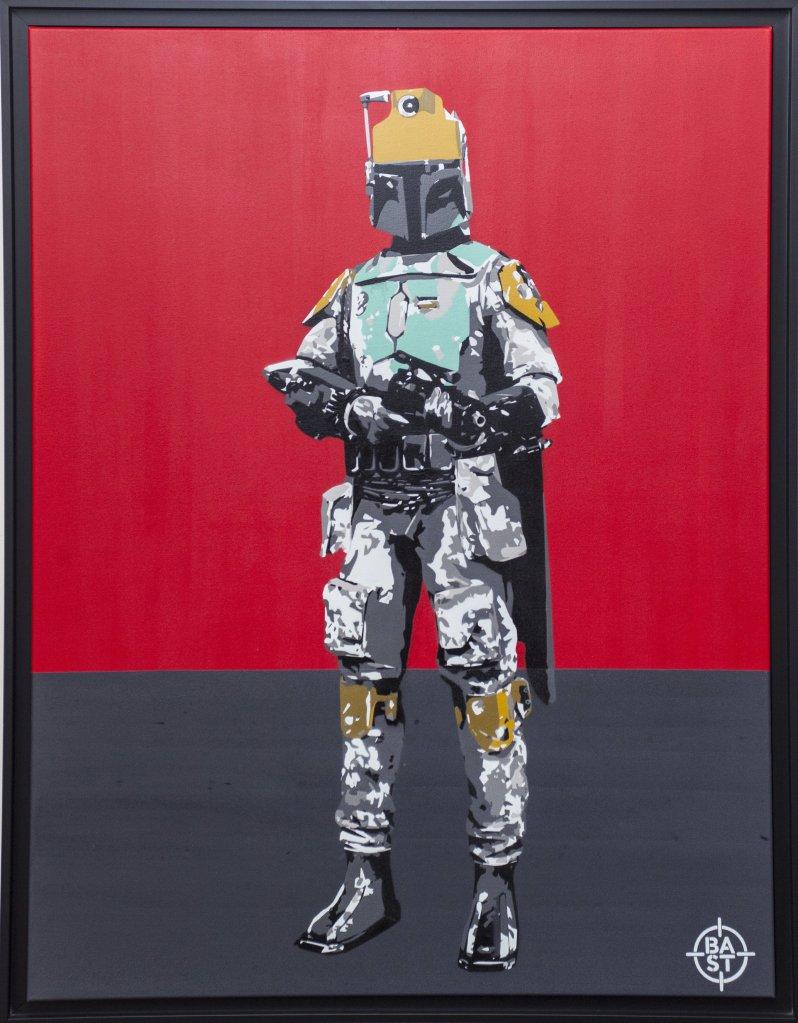 #stobafeet caisse américaine noire 116 x 89 x 3 cm 06-2017