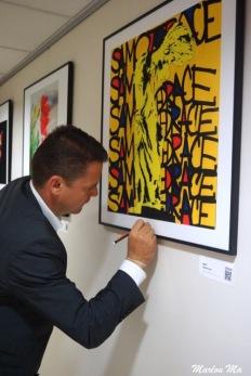 2015 Basto x MoLA (Museum Of Living Art) grand opening at EPSON France headquarter.