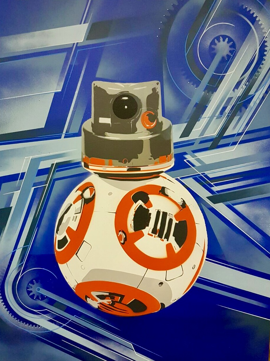 2016 Basto x Xavier Magaldi 2016 spray paints and stencils on canvas 100 x 80 cm / 39.37 x 31.49 inches
