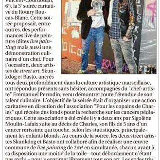 La Provence Basto x David Pluskwa Galerie x Damien LECLERE x Rotary Club january 2017 (FR)