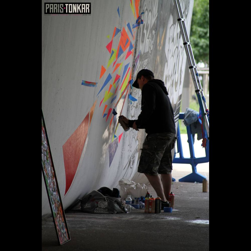 Live painting Basto FESTIWALL 2016