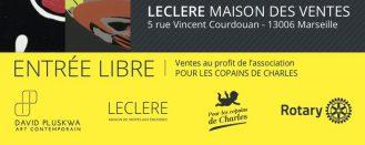 Basto x David Pluskwa Galerie x Damien LECLERE x Rotary Club Marseille 2017 (FR)
