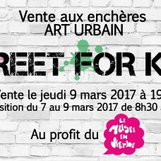 Street Art for Kids x Musée en Herbe x Maitre Arnaud Oliveux Artcurial march 2015 (FR)