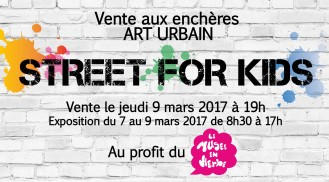 Street Art for Kids x Musée en Herbe x Maitre Arnaud Oliveux Artcurial march 2015 (FR)