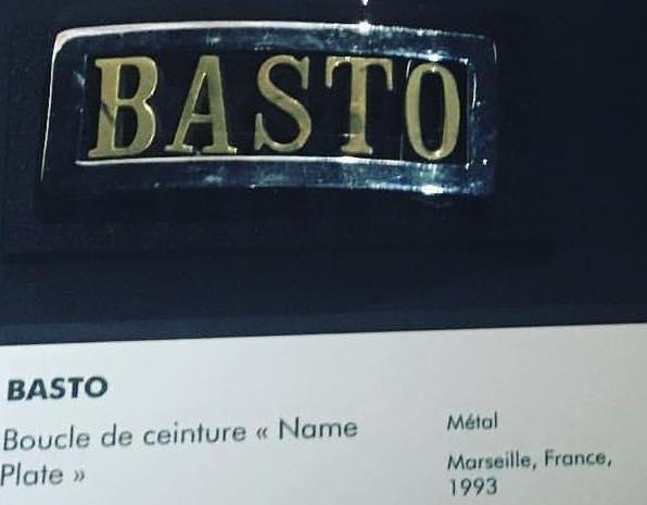 BASTO Nameplate MuCEM Fort Saint)-Jean mai 2017
