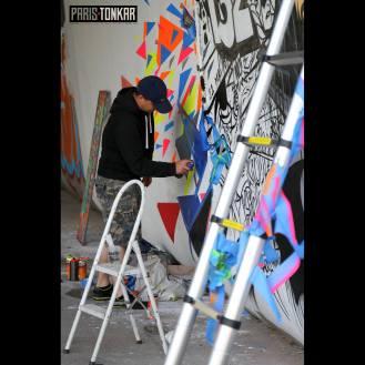 Live painting 2 Basto FESTIWALL 2016