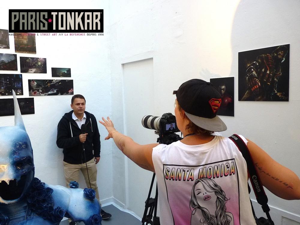 Basto interview pour Batman sous le masque et la cape Paris XVIII juin 2015
