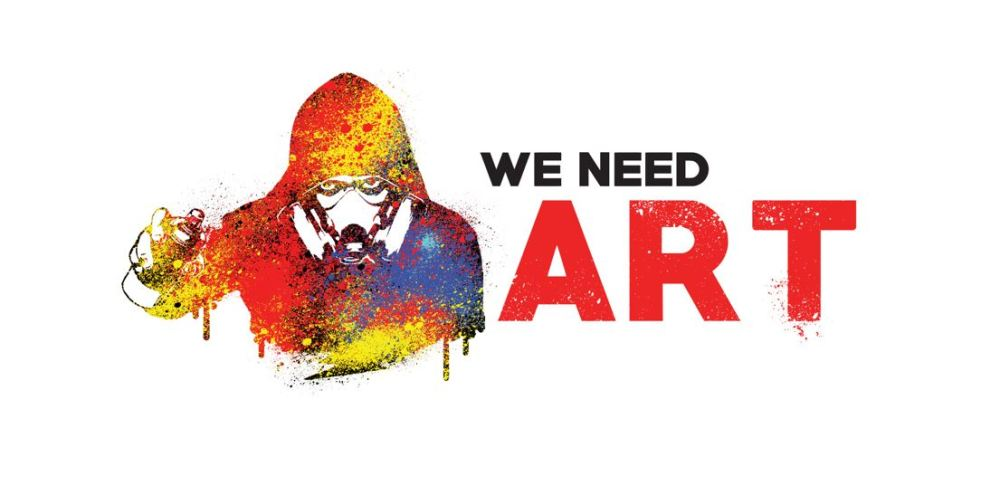 VSIUEL WE NEED ART